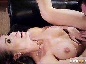outstanding crazy sex industry star Nicole Aniston came to my palace and pulverizes my rock hard spear