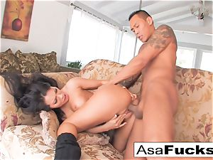 Asa having some supreme bang-out with her guy toy Keni