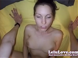 I blow and ride your knob to creampie while your wife