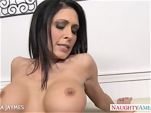 huge-titted dark haired Jessica Jaymes gets porked
