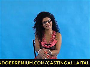 casting ALLA ITALIANA - Romanian nymphomaniac rump penetrated